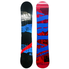Aria Drawliner Red And Blue 157cm Wide Camber Snowboard