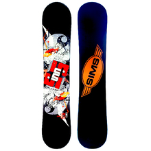 Sims Sports Authority 120cm Flat Rocker Snowboard