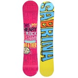 Sabrina Heather 144cm Womens Snowboard Triple Rocker