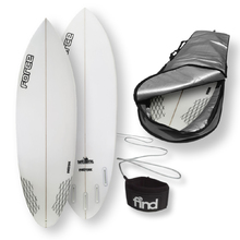 "FORCE Blitz Polytec 5'7"" Surfboard + Cover + Leash Package"