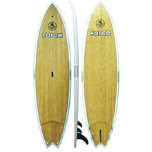 "FORCE 9'6"" Ecoflex Bamboo SUP Stand Up Paddle Board Surf Fish Surfboard"