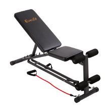 118CM Adjustable F.I.D Bench with Resistance Bands