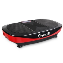 1200W Twin Motor Vibrating Plate Exercise Platform - Red