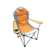 Elemental The Chair Orange (Padded High-Back folding Chair)
