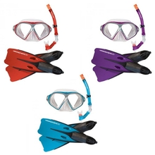 Hammerhead Reef Mask, Snorkel and Fin Set