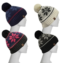 XTM Ladies Headwear Nika Beanie One Size