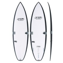 Haydenshapes White Noiz FF Shortboard