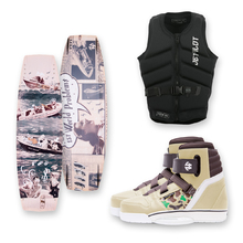 Humanoid 1UP 138cm Wakeboard + Humanoid Boots + Jetpilot PFD Package
