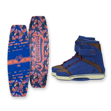 Humanoid Huxtable 138cm Wakeboard - Blue + Humanoid Boots Package