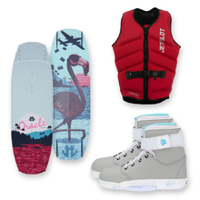 Humanoid Oracle 143cm Wakeboard + Humanoid Boots + Jetpilot PFD Package