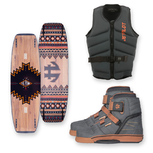 Humanoid Plank 141cm Wakeboard + Humanoid Boots + Jetpilot PFD Package