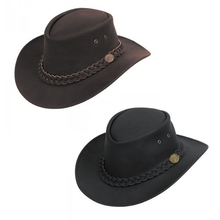 Jack Jumper Cattleman Leather Hat