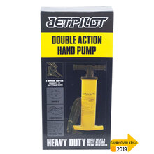 JetPilot Double Action Manual Hand Pump - Yellow