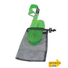 JetPilot Tow Strap With Mesh Bag - Lime