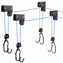 2 x Kayak Hoist Ceiling Rack