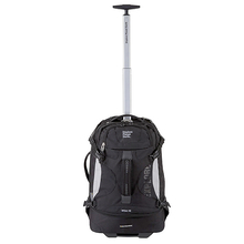 Explore Planet Earth Milan 45L Shadow Black Wheelie Bag