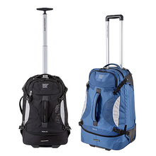 Explore Planet Earth Milan 85L Shadow Wheelie Bag