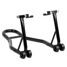 2-in-1 Front/Rear Motorcycle Stand