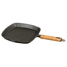 Campfire Cast Iron Square Frypan