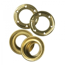COI Leisure Eyelet And Washer Soild Brass