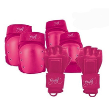 Crystal Adult 6 Piece Protective Gear Pink
