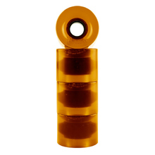 Penny Skateboard Wheels - Orange Trans
