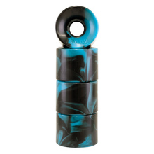 Penny Skateboard Wheels - Blue/Black Swirl