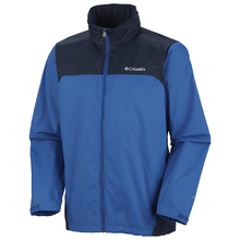 Columbia Men's Glennaker Lake Rain Jacket Blue Jay/Nvy