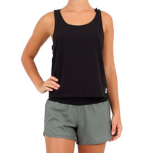 JetPilot Kick On Ladies Tank - Black