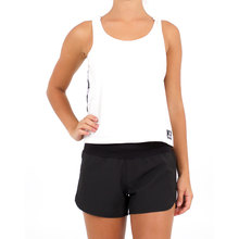 JetPilot Kick On Ladies Tank - White