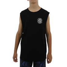 JetPilot Showtime Youth Muscle Tank - Black