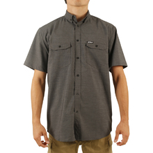JetPilot Essentials S18 Mens Shirt - Charcoal