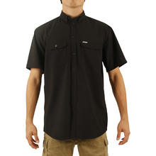 JetPilot Essentials S18 Mens Shirt - Black