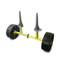 Sea to Summit Solid Wheel Sit on Top Cart Green
