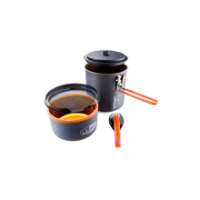 GSI Pinnacle Soloist Cook Set - Dark Grey - 305 gr