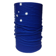 Buff High UV Face Shield Bandana Neck Scarf HooRag Head Sock - AU Southern Cross
