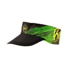 Buff Pack Run Visor - R-Flash Logo Yellow Fluro