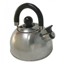 Campfire Compact Stainless Steel Whistling Kettle 2.5L