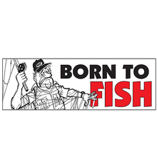 AFN Born To Fish Sticker