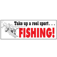 AFN Take Up A Real Sport? Fishing! Sticker