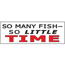 AFN So Many Fish - So Little Time Sticker