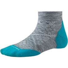Smartwool Women's PHD Run Light Elite Low Cut Socks Gr/Cap