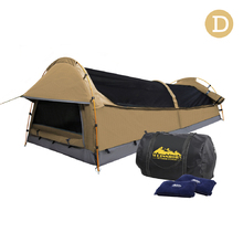 Double Size Canvas Tent - Beige