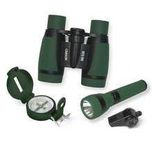 Carson AdventurePak - Bino Torch Compass & Whistle