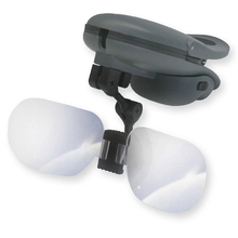 Carson TyMate Clip On LED Lighted Visor Magnifier - 1.5x