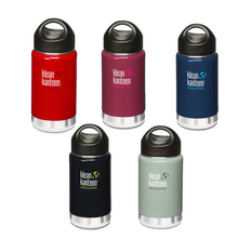 Klean Kanteen 12oz Wide Insulated Water Bottle with Loop Cap