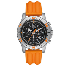 Traser Extreme Sport Carbon with Silicone Band Watch (Orange)