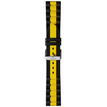 Traser Rubber Watch Band No. 23 - (Yellow/Black)