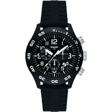 Traser Officer Chronograph Pro with Silicone Band Watch