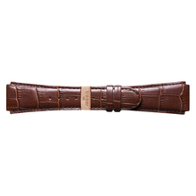 Traser Brown Leather Band Croc Pattern Sporty No. 25